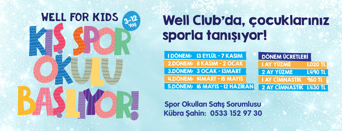 Well For Kids Kış Spor Okulu